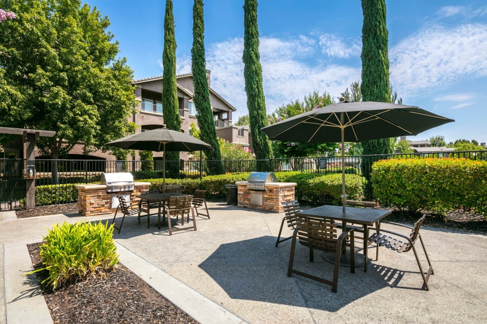 Barbecue with your neighbors at Miramonte and Trovas in Sacramento, California