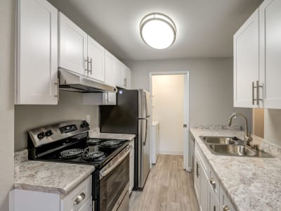 Upgraded kitchen at Chestnut Hills Apartments