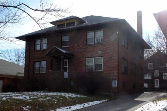 Exterior at University Avenue Apartments in Des Moines, Iowa