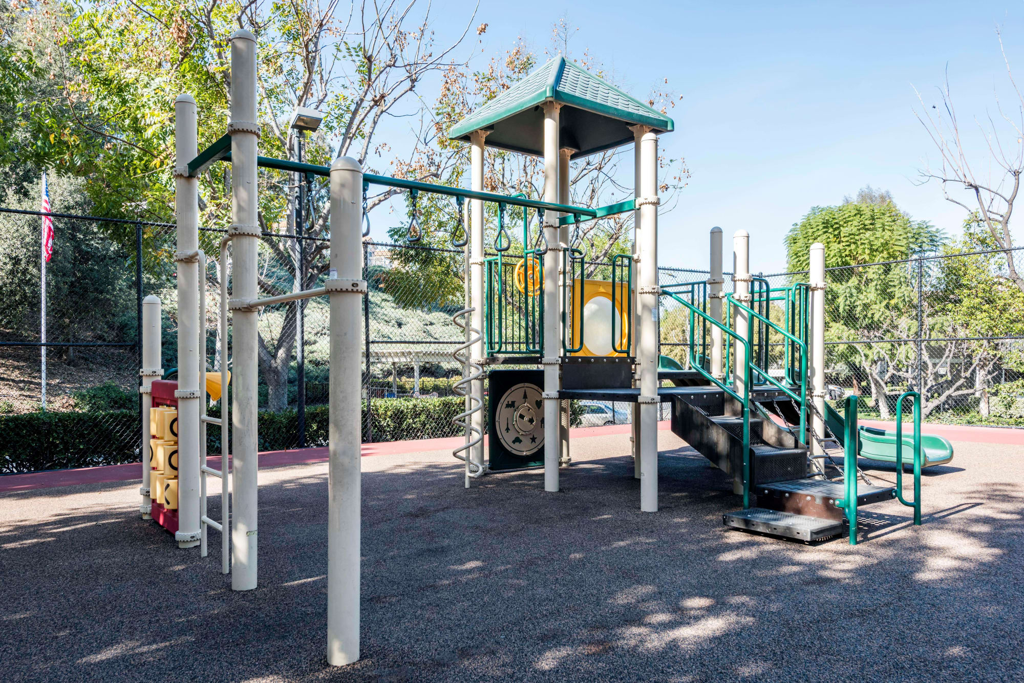 Playground at Village Oaks in Chino Hills, California