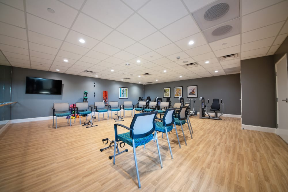 gym at Regency Palms Oxnard in Oxnard, California