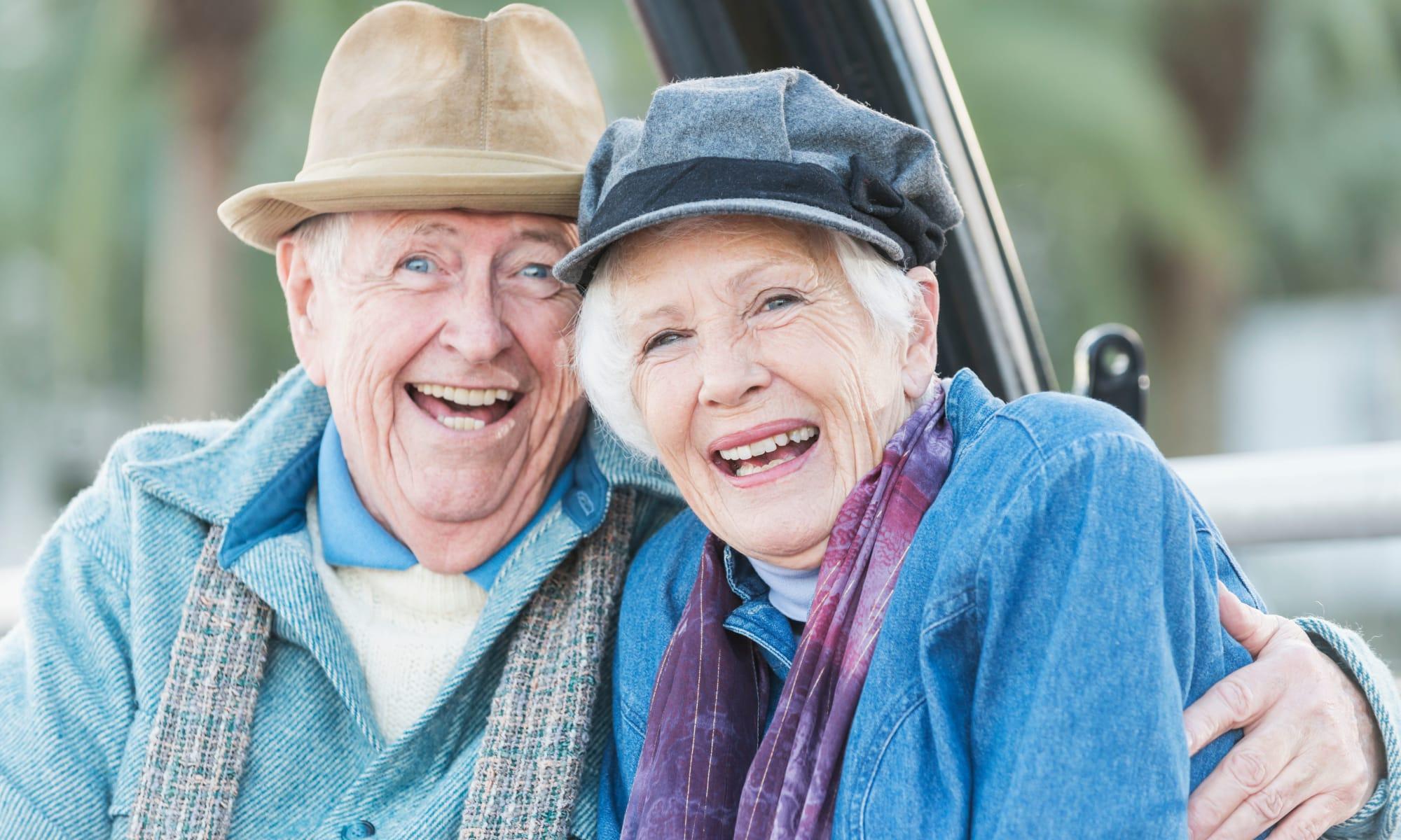 Senior living at Magnolia Court in Vacaville, California