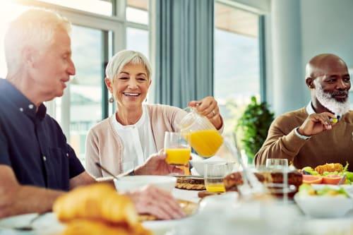 Dining & Nutrition at Jaybird Senior Living