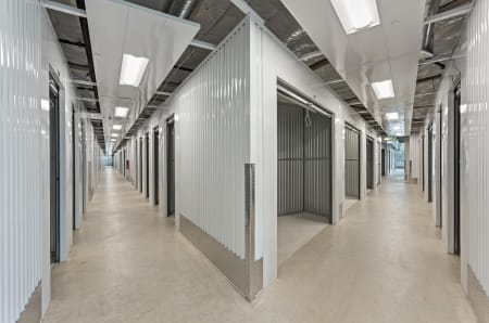 Interior at StorQuest Self Storage in Sacramento, California