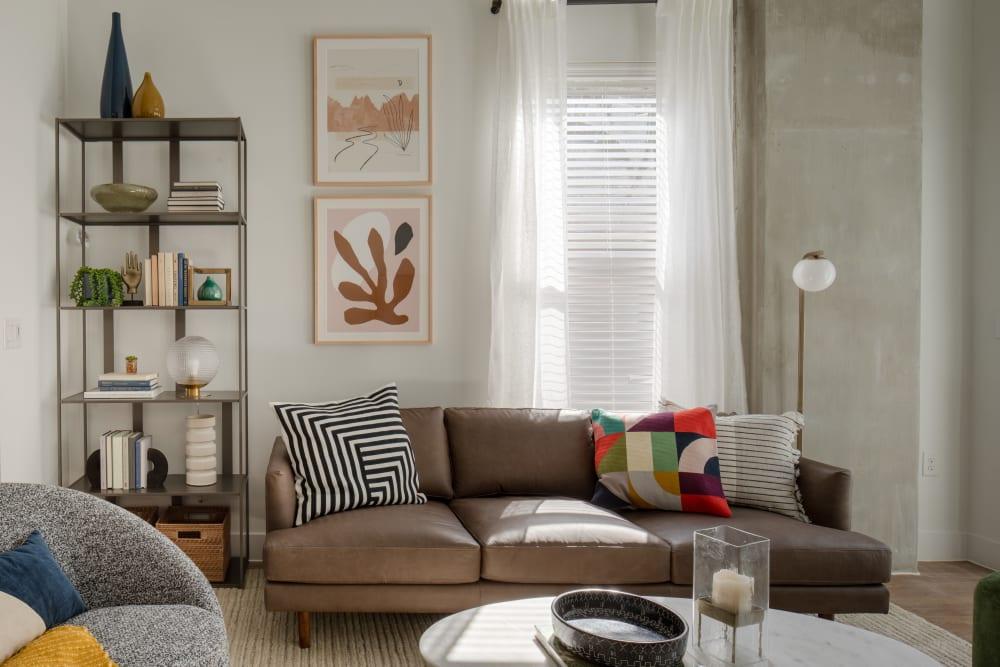 Cozy living room at  in San Antonio,TX