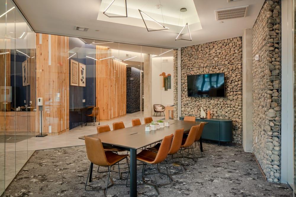 Business meeting area at  in San Antonio,TX