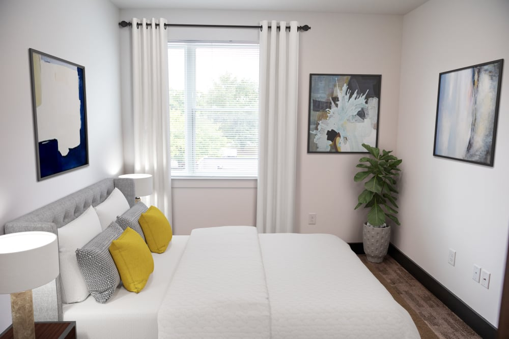 Model Bedroom at Belcourt Park in Nashville, Tennessee