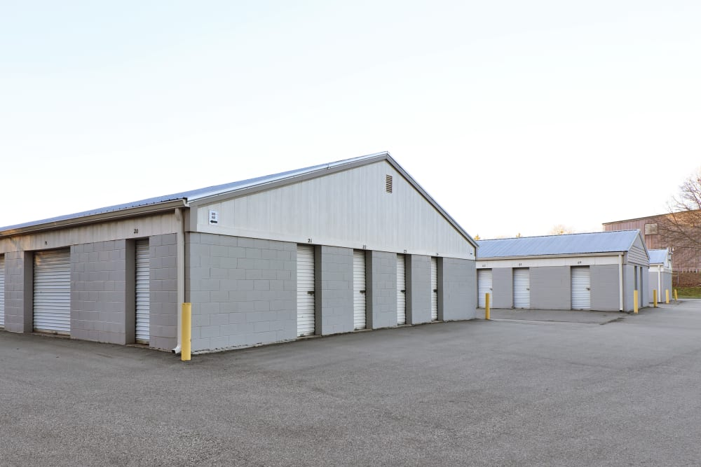 Secure outdoor storage at StayLock Storage in Mauldin, South Carolina