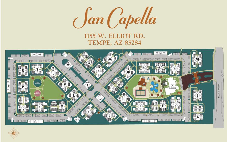 San Capella site plan