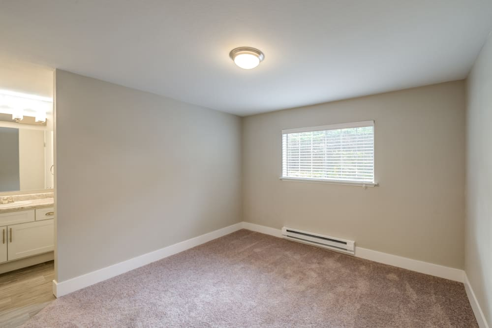 Chestnut Hills Apartments spacious and well-lit living space in Puyallup, Washington