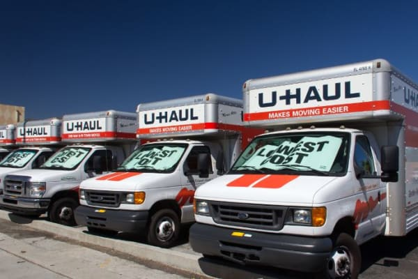 Moving trucks available at Towne Storage - Colt Plaza in West Valley, Utah