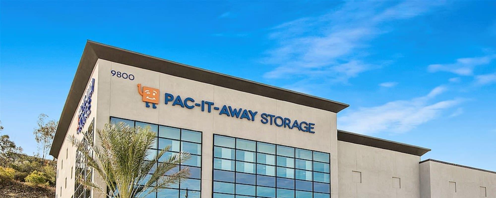 Pac-It-Away Storage in San Diego, California