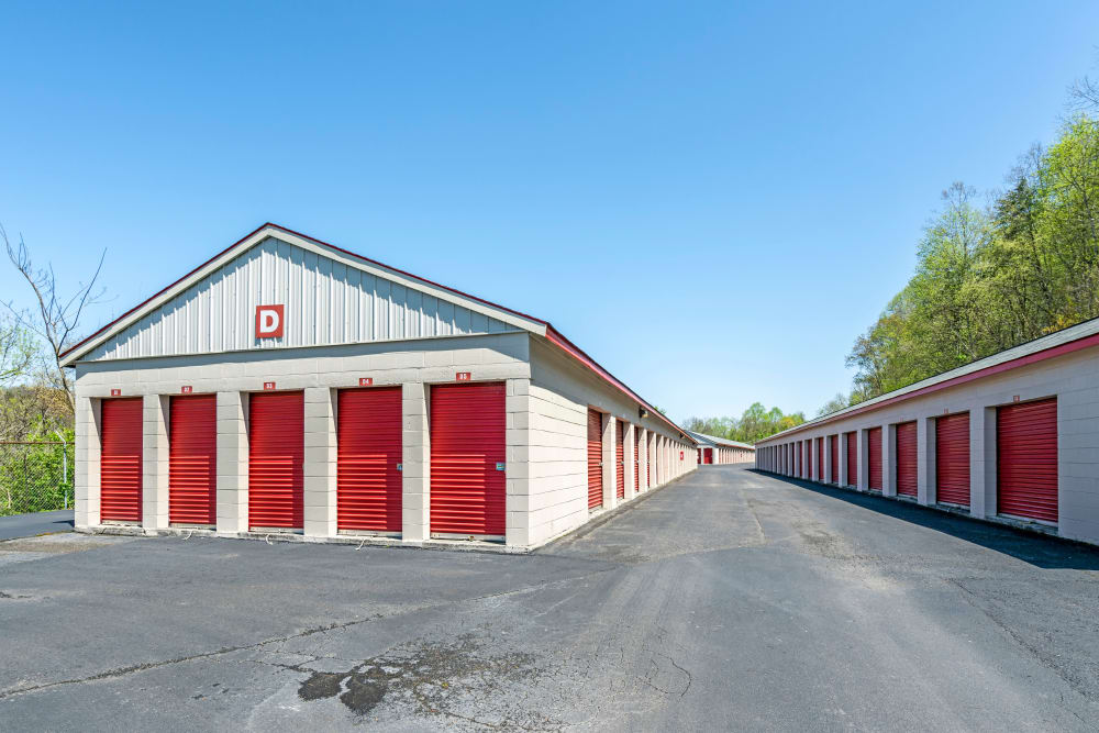 Outdoor Units at Metro Self Storage in Knoxville, TN