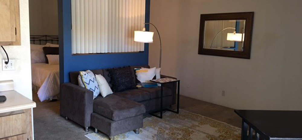 Living room at Vista Alegre apartments