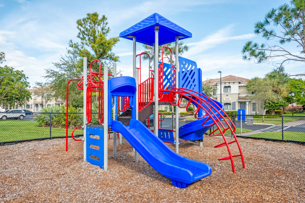 Playground at apartments in Palm Beach Gardens, Florida