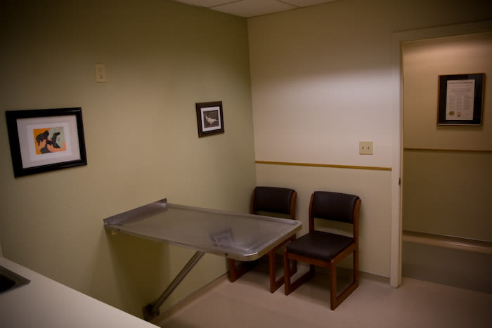 Lafayette Animal Hospital examination room in Lafayette, California