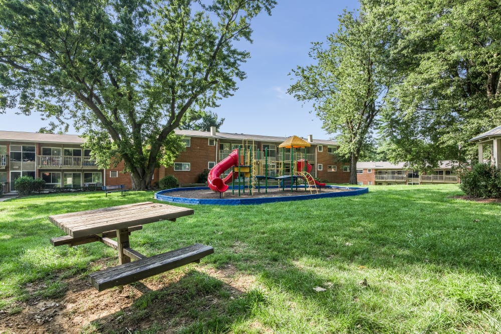 Our apartments in Rockville, Maryland have a state-of-the-art playground