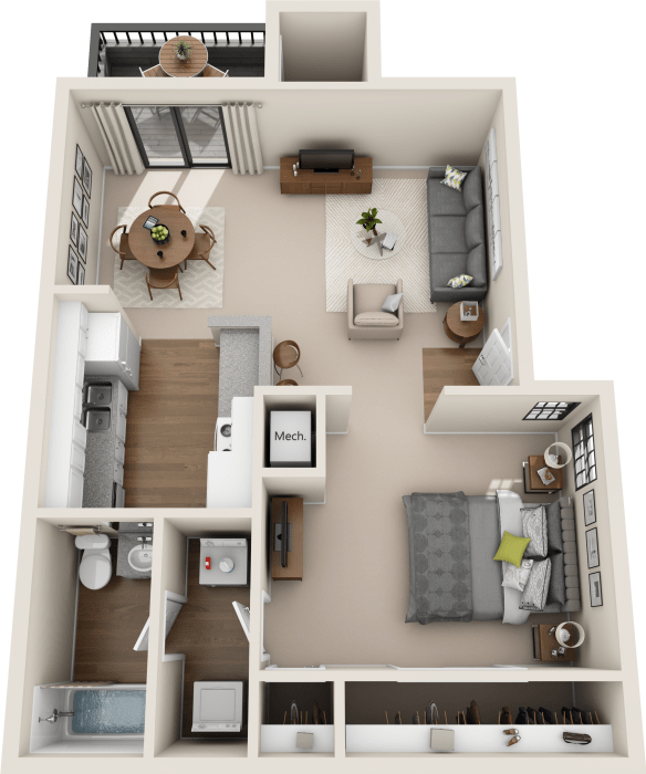 Promontory Point Apartments: Studio, 1 & 2 Bedroom Apartments In Austin, TX