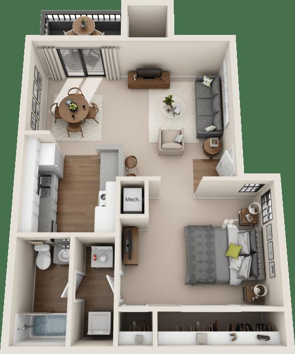 Studio, 1 & 2 Bedroom Apartments In Austin, TX