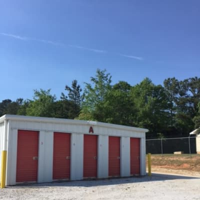 Unit at Monster Self Storage in Greenwood, South Carolina
