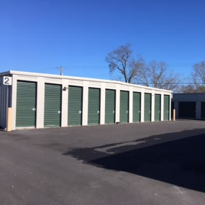 Units at Monster Self Storage in Seneca, South Carolina