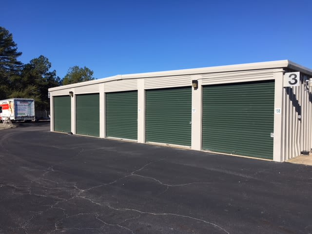 Units available at Monster Self Storage in Seneca, South Carolina