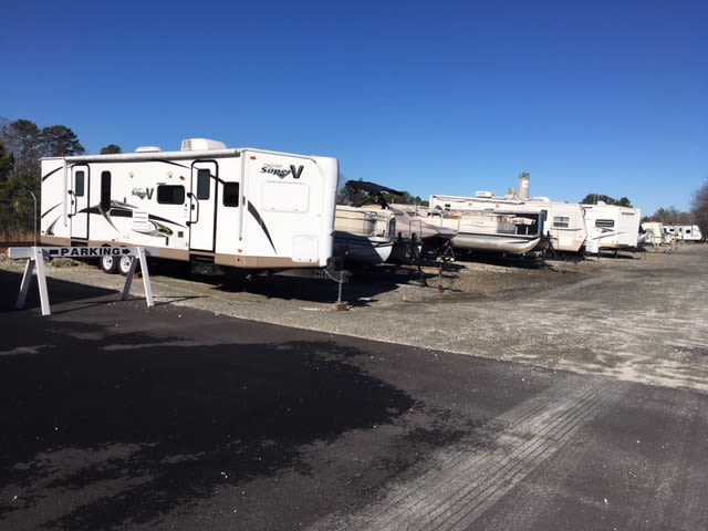 RV, boat & auto storage at Monster Self Storage in Seneca, South Carolina