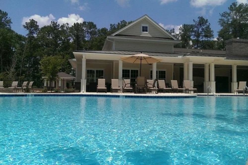 Swimming pool at Arbor Village in Summerville, South Carolina