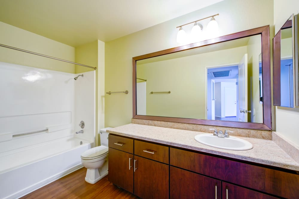 Beautiful bathrooms at Alvista Terrace
