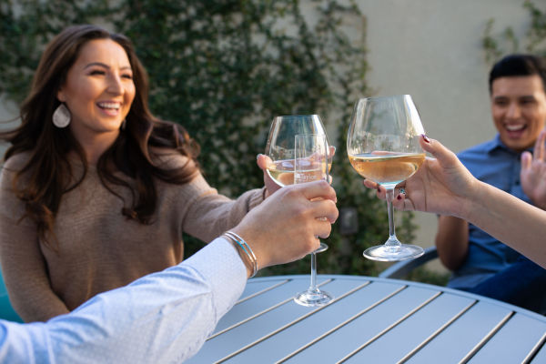 Residents toasting to the good life at San Marbeya in Tempe, Arizona
