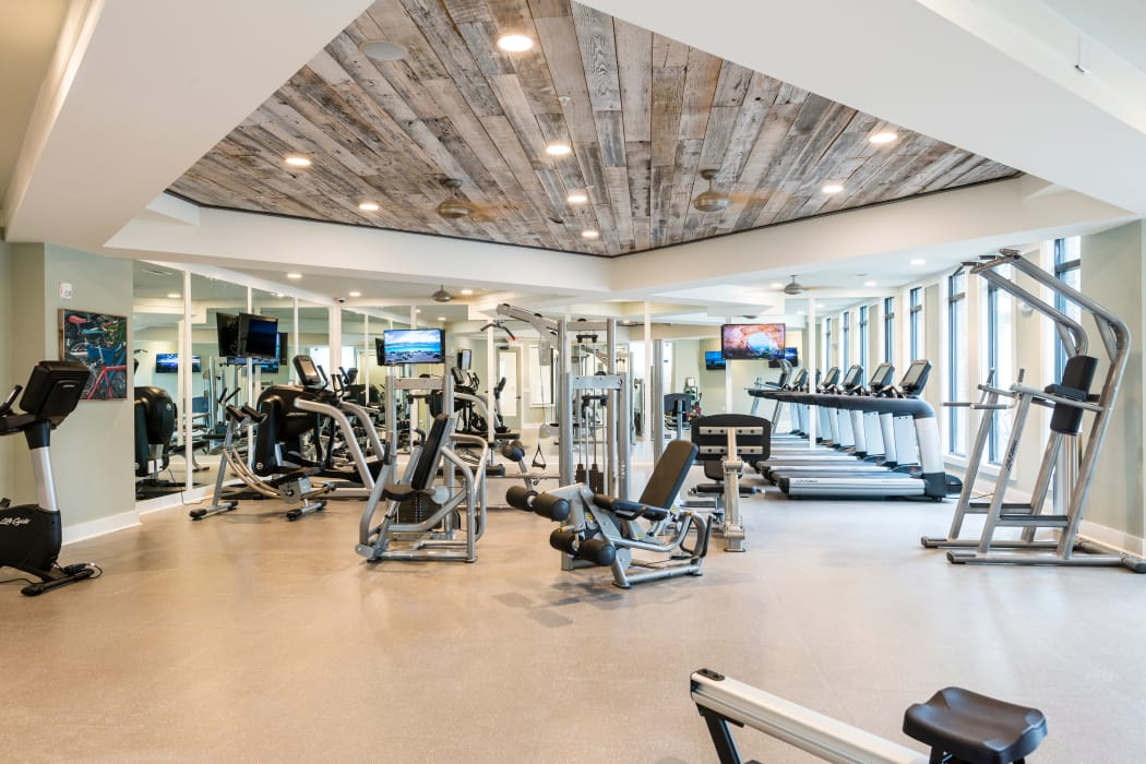 Fitness Center at The Heyward in Charleston