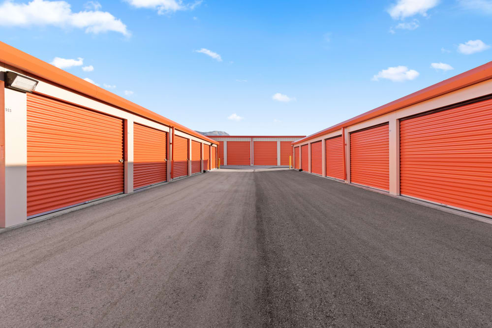 Drive up storage at Stor'em Self Storage in Payson, Utah