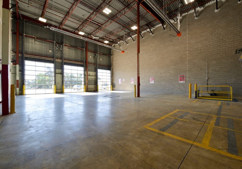 Loading area at Apple Self Storage - Mississauga - Meadowvale in Mississauga, Ontario