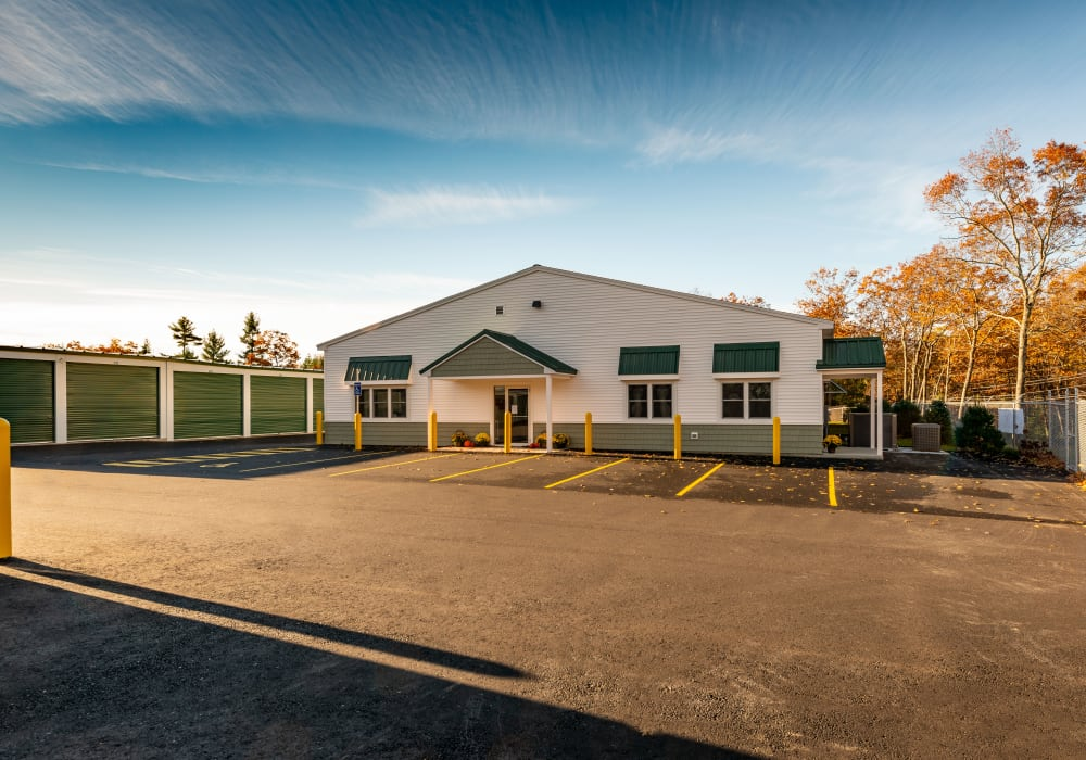 Clean self storage units at Safe Storage in Sanford, Maine
