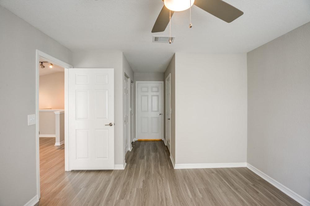 Hallways at apartments in Palm Beach Gardens, Florida