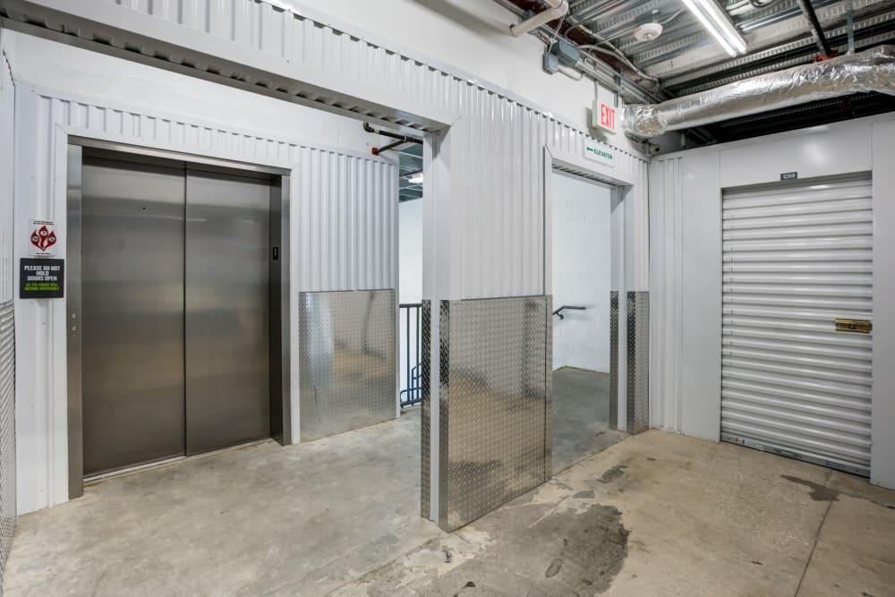 Elevator at Metro Self Storage in Orlando
