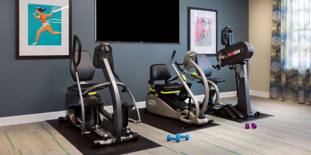 Fitness center at Stonecrest at Burlington Creek in Kansas City, Missouri