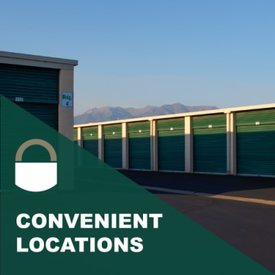 Locations for Lock It Up Self Storage in Ogden, Utah