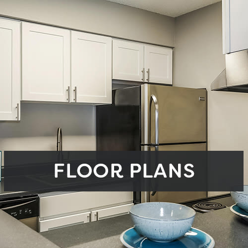 City Center Station Apartments floor plans