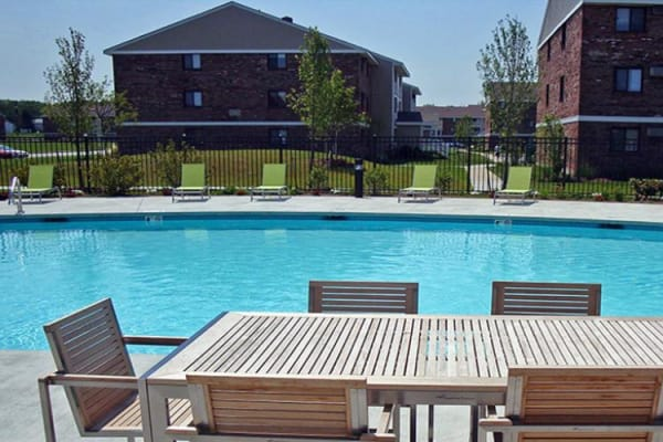 Swimming Pool at Rosemont Square Apartments in Randolph