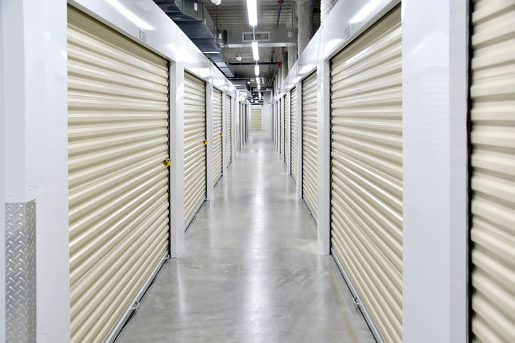 Climate-controlled storage units at Edgemark Self Storage Arvada in Arvada, Colorado