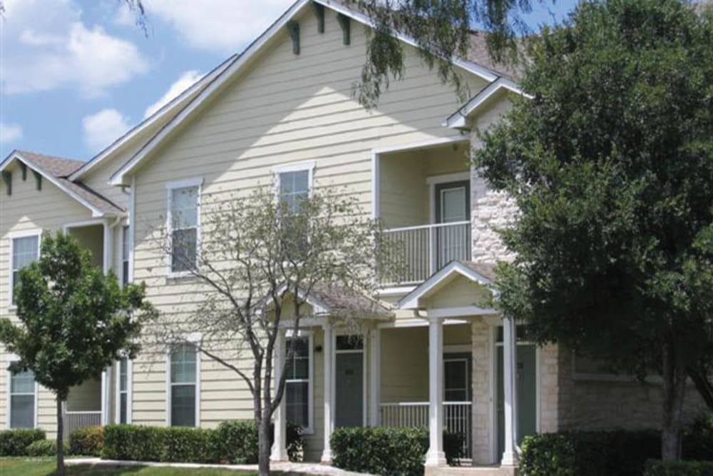 Townhome Style Exteriors