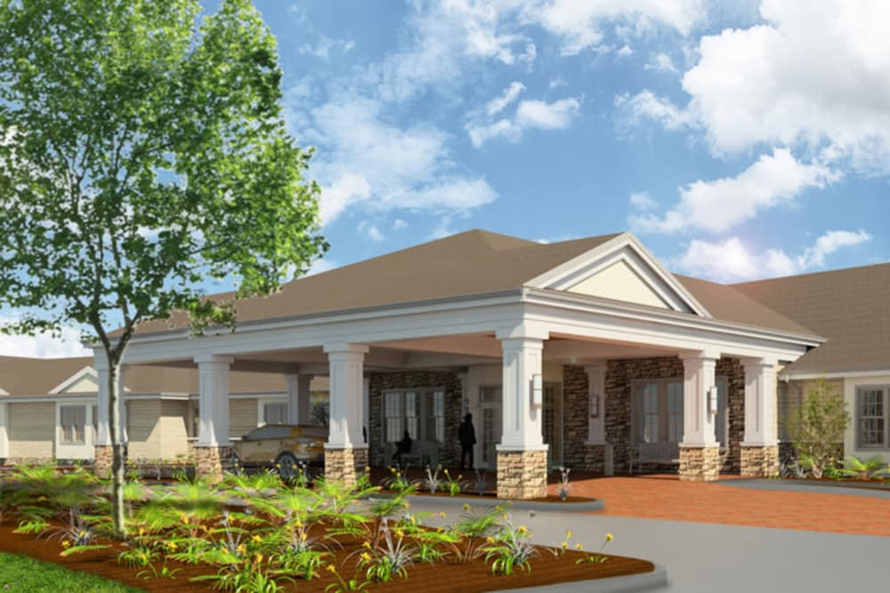 Rendering of Symphony at Cherry Hill Memory Care