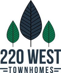 220 West Townhomes logo located in Augusta, Georgia