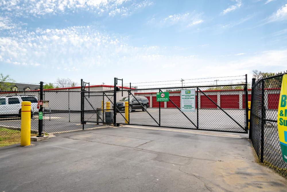 Gated Facility at Metro Self Storage in Alcoa, TN