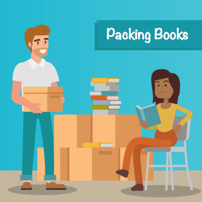 Packing Books Storage Tips at Smart Self Storage in Van Nuys, CA