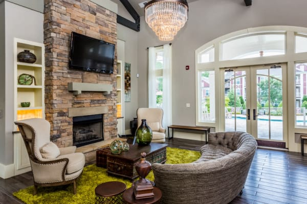 Luxurious clubhouse at Berkshire Fort Mill in Fort Mill, South Carolina