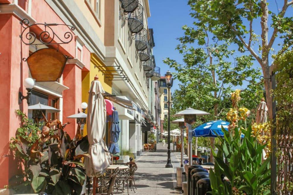 Shopping near Merrill Gardens at Willow Glen in San Jose, California