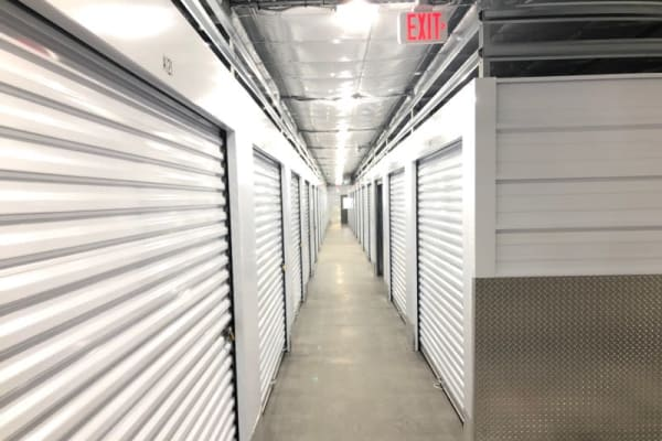 climate-controlled storage units at CT SELF STOR in Southington, Connecticut.