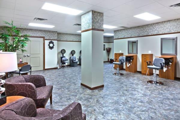 The beauty salon at Aurora on France in Edina, Minnesota